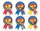 Super Hero Award Ribbons