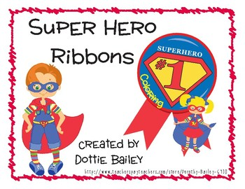Award Ribbons Worksheets & Teaching Resources | Teachers Pay
