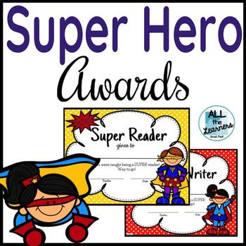 Super Hero Awards