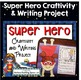 Super Hero Back To School BUNDLE --- Presentation, Tags, F
