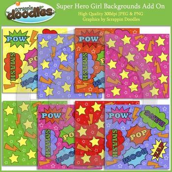 Super Hero Backgrounds