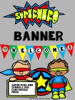 Super Hero Banner