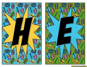 Super Hero Banner ~ Hero Headquarters