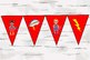 Super Hero Banner Sign the whole Alphabet, includes 4 other banners