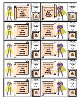Super Hero Behavior Incentive Program ~ Training Badges