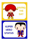 Super Hero Behavior Program