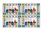 GIRL Super Hero Behavior Punch/Sticker Cards