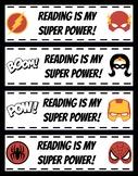 Super Hero Book Marks
