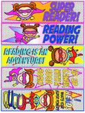 Super Hero Bookmarks