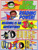 Super Hero Bookmarks