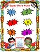 Super Hero Bump Games            Sight Words, Color Words, Number Words