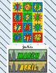 Super Hero Calendar Set - Months, Days, Numbers, Special Days