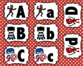 Super Hero Capital and Lowercase Match