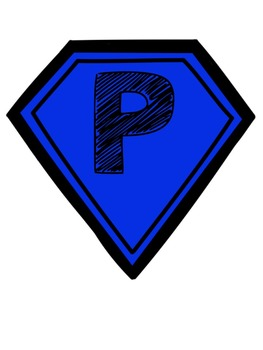 Super Hero Certificates and Display: P.E., Art, Music, Technology, and More!
