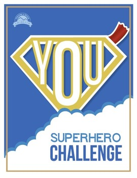 Superhero Challenge - Team Building Activity {Editable}