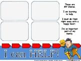 Super Hero Chore Charts
