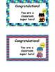 Super Hero Class Awards - Customizable!!!