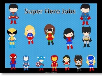 Super Hero Class Jobs