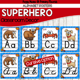 Super Hero Classroom Decor {Alphabet}
