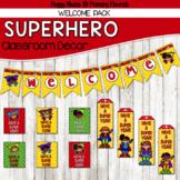 Super Hero Classroom Decor {Welcome Pack}