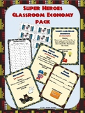 Super Hero Classroom Economy Pack