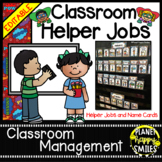 Classroom Helper Jobs (EDITABLE) ~ Super Hero Theme