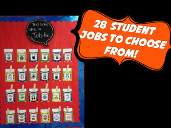 Super Hero Classroom Jobs