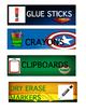 Superhero Classroom Labels
