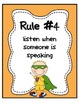 Super Hero Classroom Rules