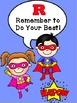 Super Hero Classroom Rules Banner