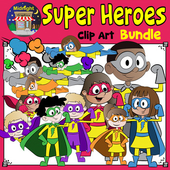 Super Hero Clip Art