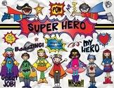 Super Hero Clip Art Download