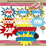 Super Hero Clipart