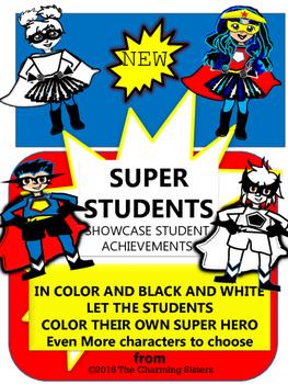 Super Hero Comic Cards