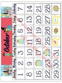 Super Hero Complete Calendar Kit for Classroom and learnin