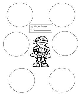 Super Hero Craft Activity