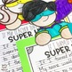 Super Hero Writing Craftivity - If My Teacher Turned Into A Super Hero