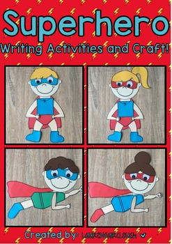 Superhero Creative Writing and Craft