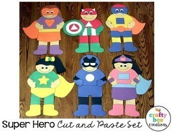 Super Hero Crafts Bundle