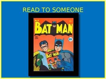 Super Hero Daily 5