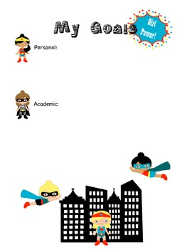 Super Hero Data Graph for Letter Recognition
