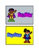 Super Hero Dismissal Cards