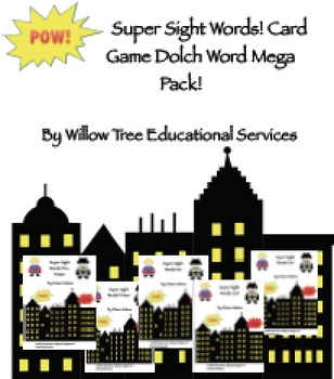 Dolch Pre-3rd Grade Super Sight Words Pack!