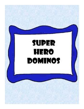 Super-Hero Dominoes
