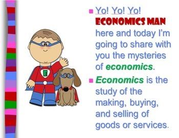 Super Hero Economics Lesson