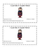 Super Hero Emergent Reader