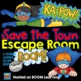 Super Hero Escape Room on BOOM