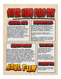 Super Hero Field Day