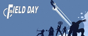 Super Hero Field Day