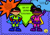 Super Hero First Day Activity Pack - Getting to know you and your classmates